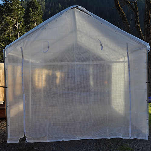 20 Foot Wide u2013 Replacement ... & 20 Foot Wide - Replacement Greenhouse Solid End Panel - Clear ...