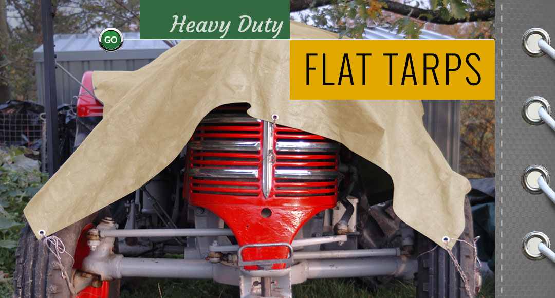 Heavy Duty Flat Tarps