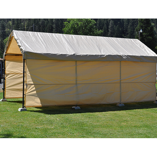 12×30 Replacement Carport ...  sc 1 st  Costless Tarps & 12x30 Replacement Carport 5 piece Combo kit - Tan - Costless Tarps