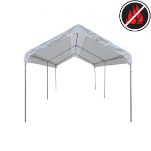 Standard Fire Retardant White Top Covers