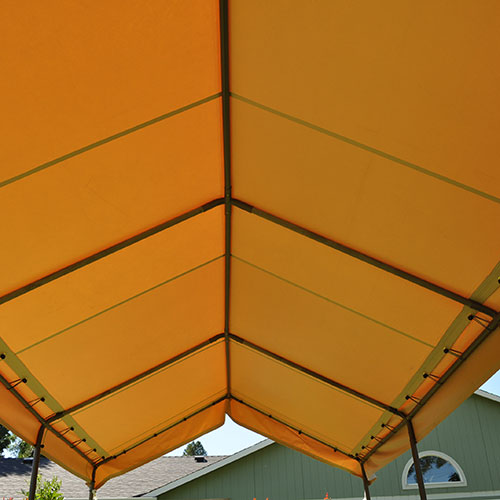 Replacement Tan Vinyl Carport Cover