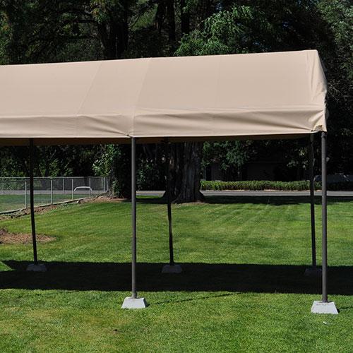 Carport Canopy Covers : Heavy duty ounce vinyl carport cover costless
