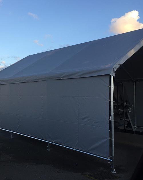 Heavy Duty Vinyl Carport Covers
